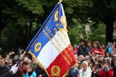 IMG_9178 (Dreamland 69) Tags: paris france army flag soldiers guerre defense drapeau arme dfense dfil frenchflag bleublancrouge militaires  dfildu14juillet dfilmilitaire  parigi