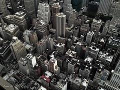 Techos de New York / New Yorks roofs (.. jfraile (OFF busy)) Tags: ny newyork manhattan eua empirestatebuilding iphone mygearandme mygearandmepremium mygearandmebronze jfraile javierfraile