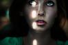 about watching the world from inside the closet (laura zalenga) Tags: light woman green eye girl face dark munich ray room stare gaze dobby ©laurazalenga