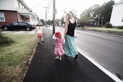 _MG_1641-5 (k.a. gilbert) Tags: street family walking outside outdoors lucy charlotte naturallight sidewalk kristen handheld fullframe curb manualfocus skirts 116 uwa tokina1116mmf28 canon5dc
