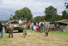 M24 Chaffee (MJ_100) Tags: army us tank military wwii battle armor ww2 vehicle armour reenactment reenactors usarmy secondworldwar worldwartwo chaffee 2011 m24 victoryshow