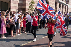 C'mon Team GB (kevin.gale) Tags: flag british iconic olympicgames olympictorch