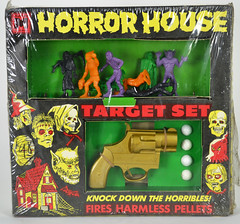MPC Horror HouseTarget Set 1 (toyranch) Tags: house monster set vintage ball toy gun horror target mpc