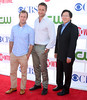Scott Caan, Alex O'Loughlin and Masi Oka CBS Showtime's CW Summer 2012 Press Tour at the Beverly Hilton Hotel - Arrivals Los Angeles, California