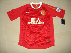 2011-12 Guangzhou Evergrande (coleflu) Tags: guangzhou home shirt 15 nike xl conca 201112 evergrande