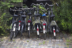 Bike's paradise (Nutena) Tags: holland amsterdam bikes paysbas vlos alignement hollande spcificit capitalehollandaise