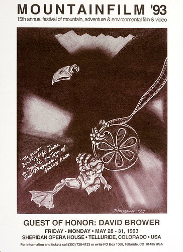 1993 Mountainfilm in Telluride Festival Poster