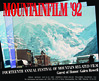 1992 Mountainfilm in Telluride Festival Poster