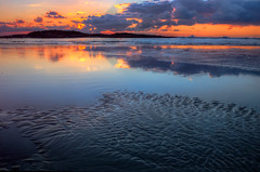 Colors and Textures (NatashaP) Tags: sunset sea seascape reflection israel tantura hofdor