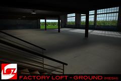 FacroryLoft GROUND 3 (MESHWORX [ by Loz Hyde]) Tags: house home loft club night buildings store 3d cg industrial factory maya mesh furniture hyde build poly polygon skybox loz meshwork meshworks