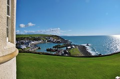 Panoramic View from the Portpatrick Hotel (Jani Helle) Tags: panorama hotel scotland portpatrick dumfriesandgalloway portphdraig september2011 portpatrickhotel portpatrickpanorama