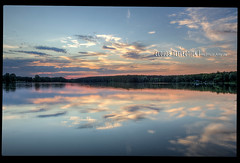 clouds reflection (mcPhotoArts) Tags: sunset sky lake reflection nature clouds germany landscape bayern deutschland bavaria see countryside sonnenuntergang sundown mark sommer jahreszeiten natur himmel wolken location loch orte landschaft reflexion spiegelung hdr hdri reflektion abendrot mittelfranken photomatix spiegeln hdrphotomatix dechsendorf reflexio lightroom3 photoshopcs4 fotoeigenschaft