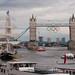 Olympics at Tower Bridge, London