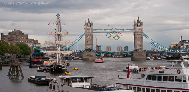 Olympics at Tower Bridge, London