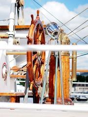 Wheel (tord75) Tags: oslo norway norge ship tall tallship sailship noreg christianradich skoleskip