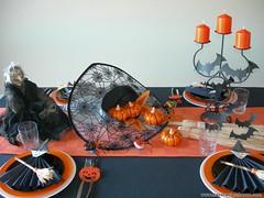 decoracion mesa hallowen (DecoracionMesas) Tags: de navidad san valentin mesas decoracion arreglos florales servilleteros wwwdecoracionmesascom