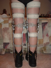 Boots and Braces From Behind (KAFOmaker) Tags: sexy leather metal fetish high shoes highheels braces boots sandals bondage heels cuff buckle brace sandal cuffs buckles restraints bracing restraint orthopedics kafo orthopedic cuffed braced buckled orthotics orthotic bootsandbraces