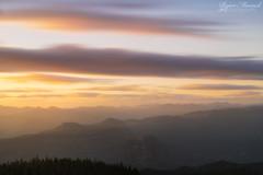 Sherrard Point Sunset (RyanManuel) Tags: longexposure light sunset clouds oregon washington nikon corbett larchmountain 2470mm sherrardpoint leefilters bigstopper d800e
