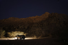 _DSC0393 ( ) Tags: camping sky tree night landscape desert jeep   cloude