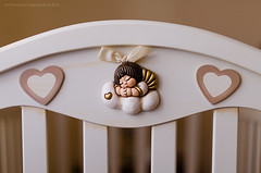 Sweet dreams (ciccioetneo) Tags: italy baby angel italia daughter newborn crib cecilia sicily thun catania sicilia cradle culla figlia ciccioetneo thuntheme