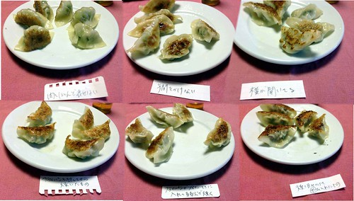 dancyu ivent gyoza cooking method