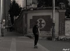 Untitled (angie.qs) Tags: street urban blackandwhite streetart color art blancoynegro colors graffiti calle mural bogota paint 26 caps creative skate aerosol pintura calle26 bogotacolombia bogotagraffiti la26