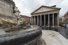 Agrippa/Hadrian Pantheon by Nikkor 14 mm - I