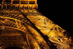 Tour Eiffel (petia.balabanova) Tags: travel paris france tower architecture night lights torre tour details eiffel toureiffel architettura parigi 2470mm nikond800