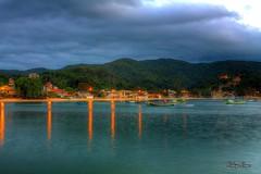 Porto Belo (Rohdrygo) Tags: santa praia beach brasil night mar porto noite catarina belo