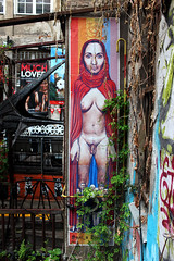 Little red riding hood NSFW (Orla Fitz) Tags: streetart berlin graffiti urbanart transgender littleredridinghood nsfw hackeschermarkt rosenthalerstrasse graffitialley berlinalternativetour