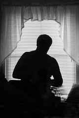 The Dark Side (redhorse5.0) Tags: silhouette shadows blinds windowlight sonya850 redhorse50