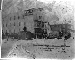 Royal Temperance Hotel, Edmonton, Alberta (Provincial Archives of Alberta) Tags: canada alcohol alberta prohibition temperance