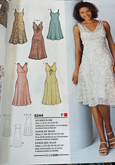 New Look 6244 (Jacqi B (catching up)) Tags: chiffon summerdress voile organza sleeveless dressmakingpatterns sheerfabrics newlookpatterns dressandslipdressfabricssilksandsilktypes lilightweightlinensandlinentypes patternsilike