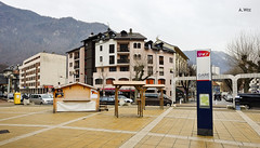 Town of Moutiers (A. Wee) Tags: france town rhonealpes  motiers