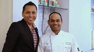 Owners Abm Kadir and Chef Atul Paighadmal