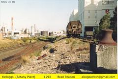 Gelco/Kelloggs - East Botany (alcogoodwin) Tags: cereal railway australia trains nsw siding botany railways kelloggs gelco