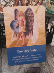 Angel Card of the Day: You Are Safe (AllAboutParanormal) Tags: angel card of the day decks oracle oracles angels archangel michael cards archangels doreen virtue guardian