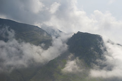 Gathering Storm, Lingmell (Nick Landells) Tags: cloud mist storm brewing lakedistrict gathering scafell scafellpike thunderstorm inversion lingmell piersgill