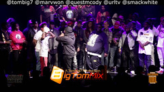 Smack/Urltv/Tombig7 : Marvwon & Quest Mcody  Life Up... (battledomination) Tags: life up t one big freestyle king ultimate pat domination clips battle dot charlie hiphop rap lush quest smack trex league stay mook rapping murda battles rone the conceited  charron saurus arsonal kotd dizaster filmon marvwon mcody battledomination smackurltvtombig7