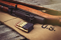 M1 Garand (Chris Bilodeau Photography) Tags: by m1 wwii springfield armory manufactured 1943 garand my