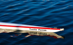 AU FIL DE L'EAU (BLEUnord) Tags: water pool sport reflections boat eau olympic olympique bassin activit embarcation rflexions