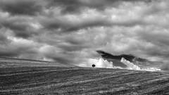 geffnet (Elmar Egner) Tags: monochrome clouds 35mm landscape wolken sp 35 tamron tamron35mmf18sp