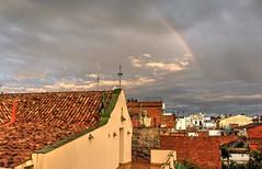 Arc de St. Mart. Ca l'Arnau. Malgrat de Mar. Rainbow. (elisabet_sans) Tags: arcoiris rainbow arcdestmart