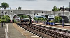 Stirling North (whosoever2) Tags: uk greatbritain railroad station train scotland unitedkingdom box stirling north railway scotrail gb signal class170 170477