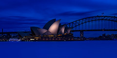 This is Why they call it Blue Hour (Rodney Campbell) Tags: sunset water twilight photowalk operahouse harbourbridge soh shb treyratcliff