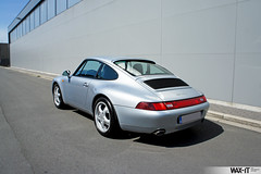 C4GS-34 (Wax-it.be) Tags: blue leather silver low 4 911 glacier porsche midnight mileage coupe carrera c4 detailing silber 993 zilver swissvax waxit