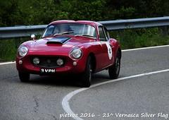 DSC_6599 - Bristol Zagato 406 - 1960 - Mann Peter - TOPS (pietroz) Tags: silver photo foto photos flag historic fotos pietro storico zoccola 21 storiche vernasca pietroz