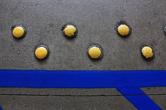 Punctuation (skipmoore) Tags: pavement dots markings