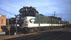 sou 4234 reidsville  5-23-58 driscoll (roadsidequest) Tags: nc railway southern 1958 passenger reidsville funit