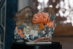 Cerussite and Barite, Mibladen, Morocco (rmk2112rmk) Tags: macro bokeh morocco minerals geology barite cerussite mibladen